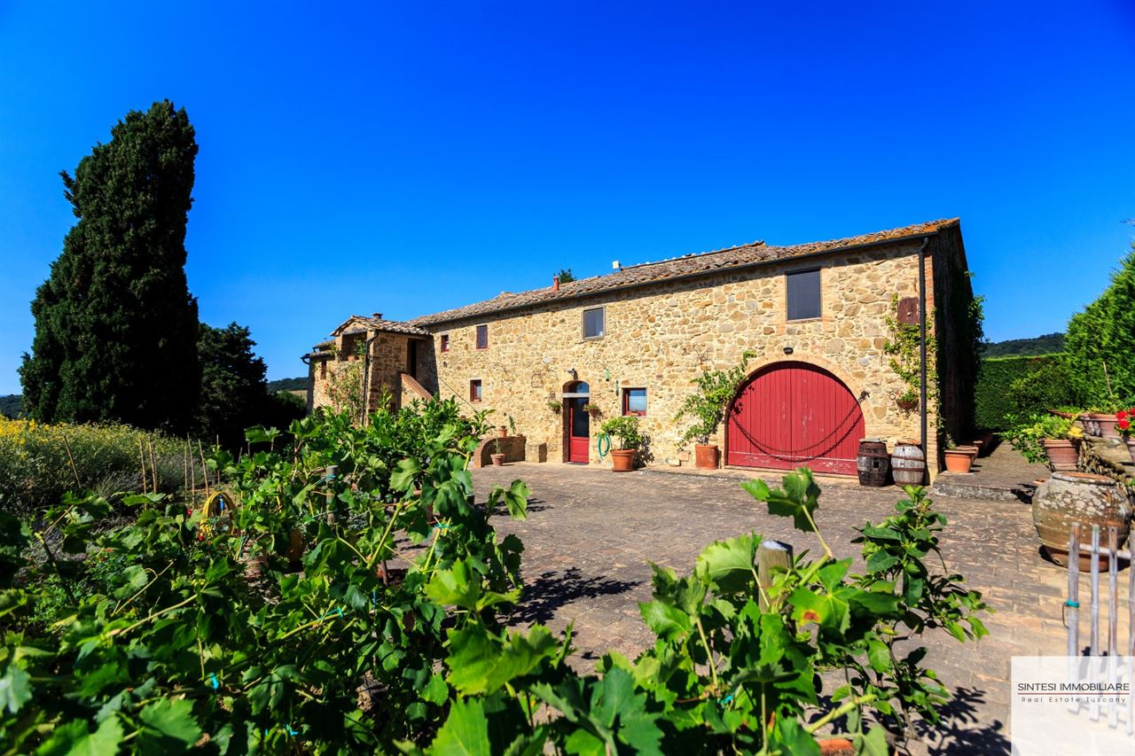 Vendita immobili ville di prestigio prestigioso casale del 700 in vendita in toscana a - Casale in toscana ...