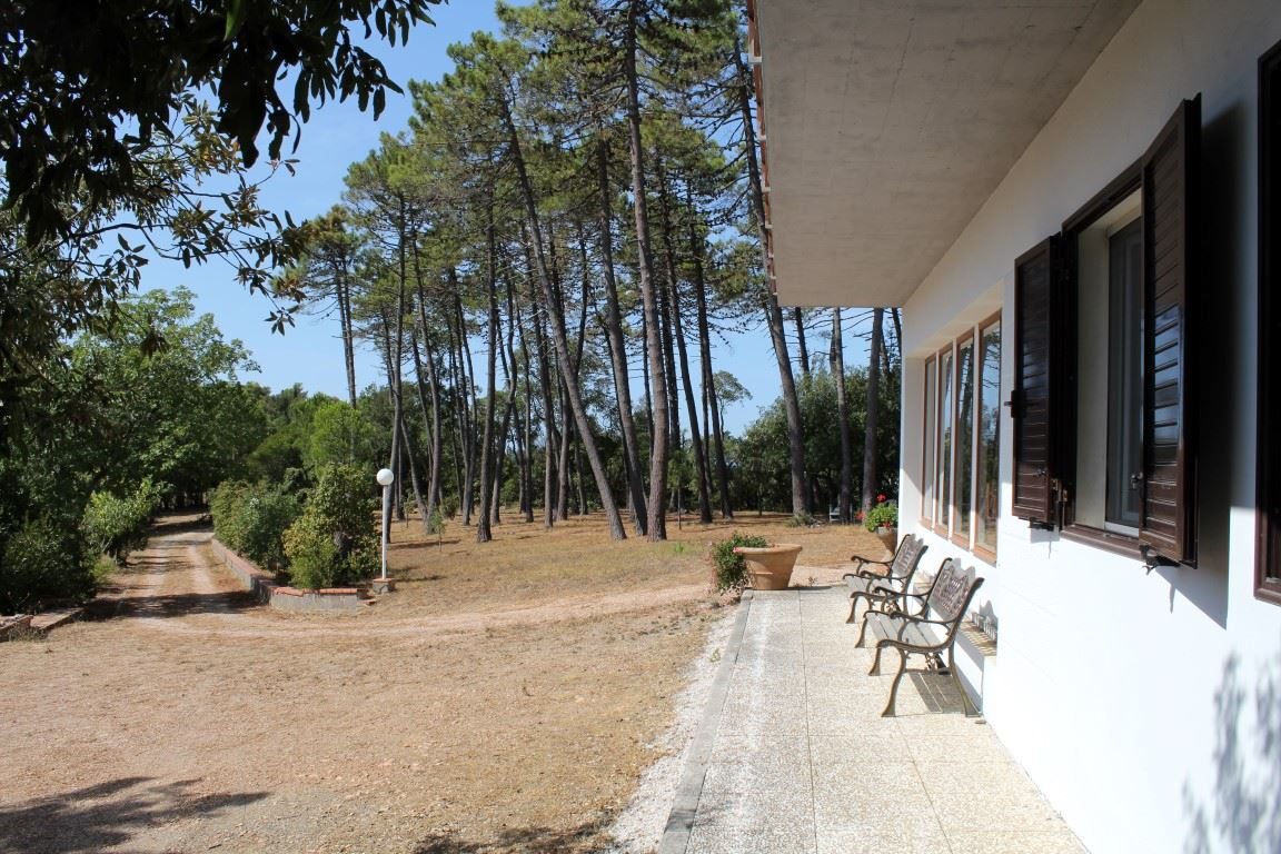 Vendita immobili case al mare villa di prestigio in for Case livorno con giardino