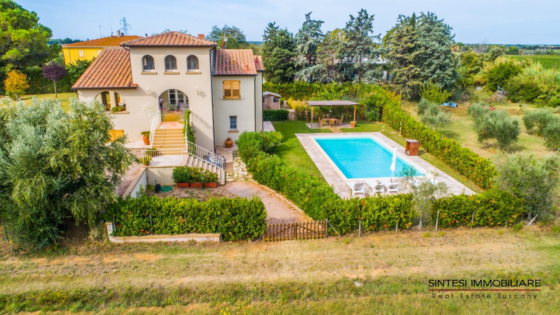 Vendita Immobili Case Al Mare Prestigiosa Villa Contemporanea In Vendita Nella Campagna Di Bolgheri Con Piscina E Palestra