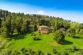 Magnifica residenza di campagna ottocentesca in vendita Toscana | Pisa | Chianni villa la contessa