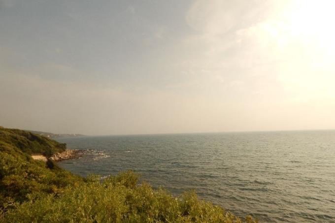 la costa ancora selvaggia