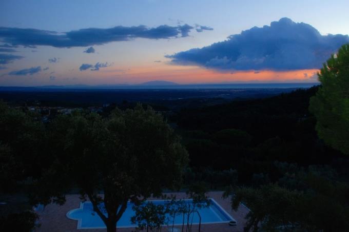 tramonto villa guicciardini