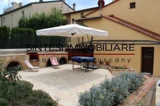 ancien town house restored with garden in the heart of historic centre of massa  marittima