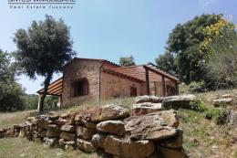 Rustico ex fienile ristrutturato in vendita Toscana tra Suvereto e Castagneto Carducci