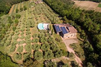 Lussuosa villa in vendita in Toscana a Montescudaio villa Clotilde