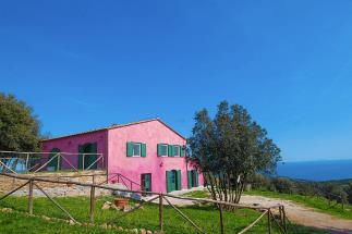 Autentico casale ottocentesco con suggestiva vista mare toscana costa campagna livorno