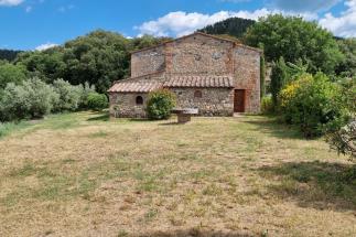 Casale | rustico in pietra 4 camere 4 bagni vista mozzafiato in vendita in Toscana | volterra