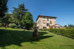 Tenuta 5,5 ettari con villa d'epoca e due casali  in vendita Toscana | Campagna Pisa  Villa delizia