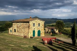 Stone Farmhouse with vineyard for sale near the Sea Tuscany | etruscan coast| Casale Marittimo