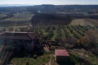 Enchanting semidetached 19th farmhouse for sale in tuscany between Scansano and Argentario coast