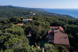 Signorile villa moderna con vista mare in vendita in Toscana, Quercianella costa livorno