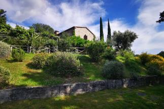 Antico borgo con due casali e oliveta bio in vendita Toscana | Sud Maremma | Scansano