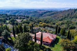 Villa di campagna con vigneti e vista sull'argentario in vendita in Toscana a Scansano | Maremma